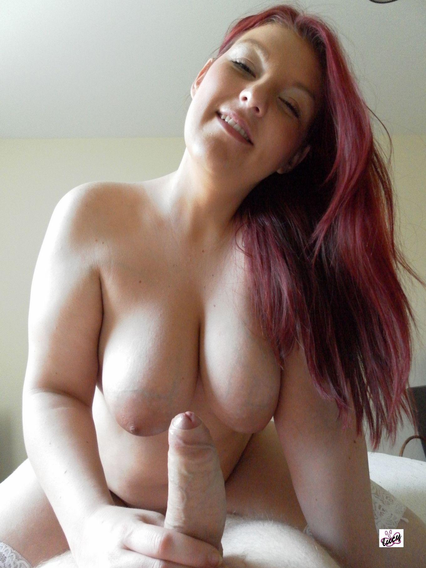 Толстая рыженькая блядь Люси