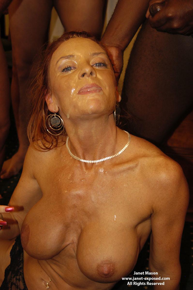 Джанета отсосала 16 пенисов на свое сорокалетие